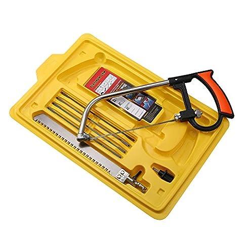 niceEshop(TM) Magic Handsaws Set, 9pcs/set Mini DIY Multifunction Hacksaws Bow