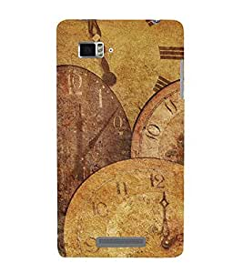 Fuson Designer Back Case Cover for Lenovo Vibe Z K910 (Watch Clock Time Traditional classic)