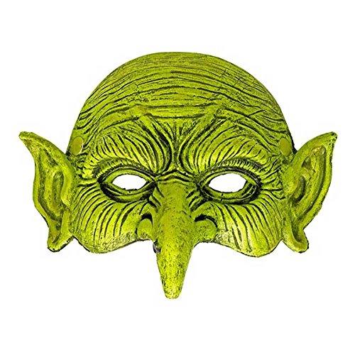 Guirca Gruselige Hexen Latex Halbmaske Halloween Hexenmaske Maske Hexe Horror Gruselig