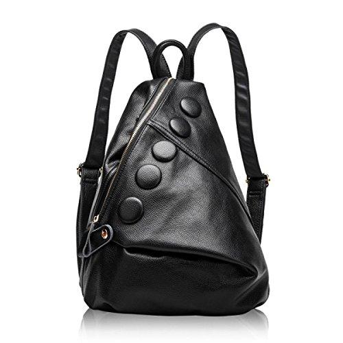 Damen-Tasche Reisetasche Koreanische Version Mode Umhängetasche Black
