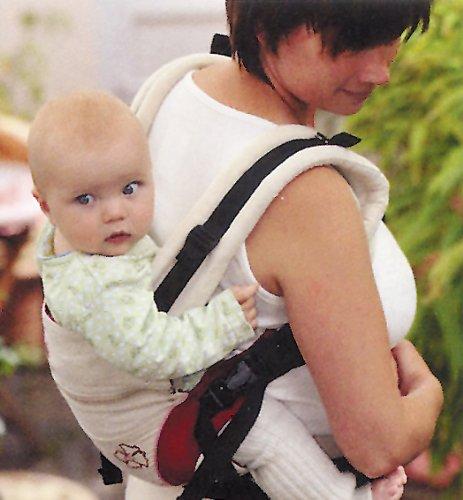 Babytrage Manduca 222-02-42-000, rot - 10