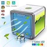 Kühler D 'Air–Mobiles Klimagerät 3in 1VERSTELLBAR Air Klimagerät Kühler D 'Air mit Kühlung von Wasser Klimagerät Zimmer-Lüfter USB Air Luftreiniger 7Farbe LED–3Ebenen für Lüftung by lhwy