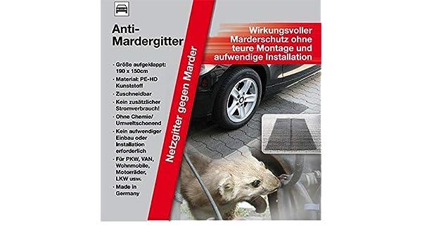 KDS//IWH 2 Anti Marder Gitter Mardergitter 190x150cm Marderschutz Marderabwehr Neu