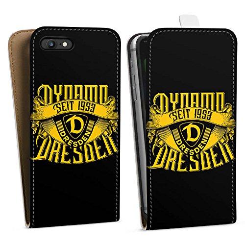Apple iPhone 7 Silikon Hülle Case Schutzhülle SG Dynamo Dresden Bundesliga Fußball Fanartikel Downflip Tasche weiß