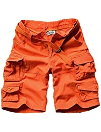 Amazon.co.uk: Orange - Shorts / Men: Clothing