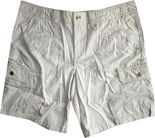 Shorts Ripstop Damen von Eddie Bauer - Stein Gr. 8 (38) (Damen Ripstop-shorts)
