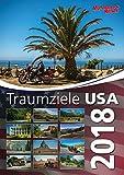 Foto-Wandkalender - Traumziele in den USA 2018 - DIN A3 hoch -