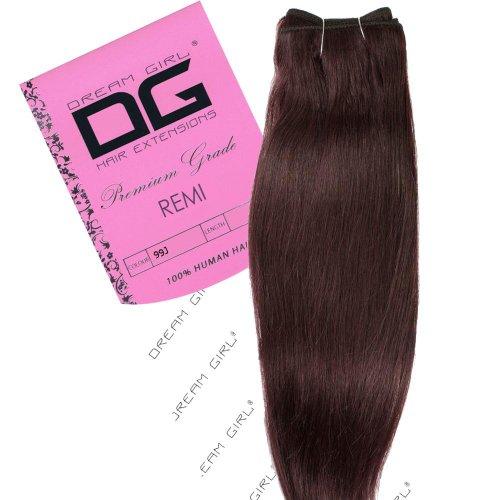 Dream Girl 40,6 cm cheveux sur trame Couleur 99J 35 cm