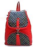 Vintage Stylish Ladies Handbag Backpack Red(bag 160)