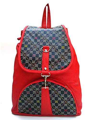 Vintage Women'S Backpack Handbag(Red,Bag 160)  available at amazon for Rs.395