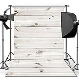 Fotografía Fondos, 1,5 m * 2,2 m Fondo de Madera Blanco de para Accesorios de Estudio Foto de Fondo