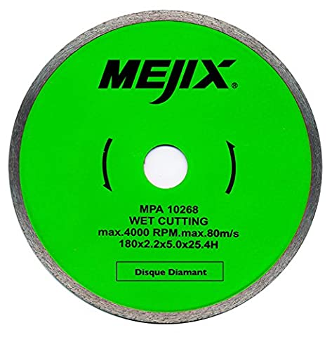 Mejix 180011 Disque diamant ø 180 mm