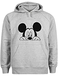 Mickey Mouse Looking For Dope Sudadera con capucha unisex