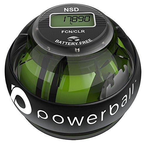 Powerball NSD - Autostart Pro Bola Giroscópica de Ejercitado de Brazo, Mano Muñeca y Fortalecedor de Grip – 280 Hz