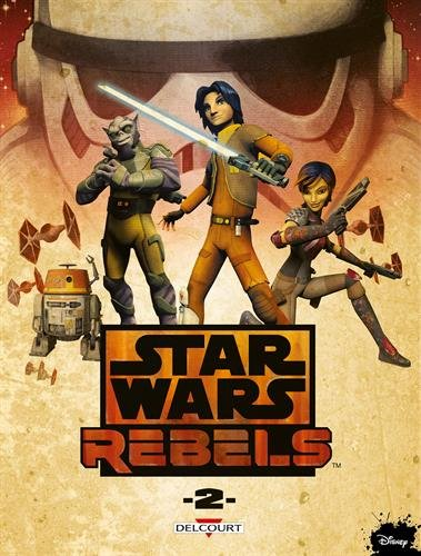 Book's Cover of Star Wars  Rebels T2