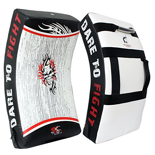 TIGON Kick Shield Gel Strike Shield Boxsack Focus Kick Pad Stanz Boxen MMA Martial Arts Training Arm (Dies ist Single Artikel)