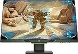 HP 27xq Gaming Monitor (27 Zoll /  QHD) Bildschirm (DisplayPort 1.2, HDMI 2.0, AMD FreeSync, 2560 x 1440 Pixel bei 144Hz, 1ms Reaktionszeit) schwarz