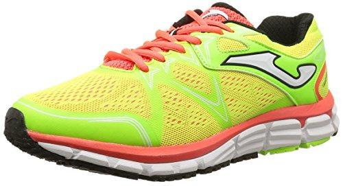JOMA Super Cros - Zapatillas de running para hombre, color amarillo, t