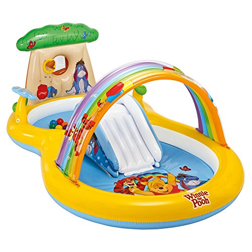 Intex - Centro juegos hinchable winnie the