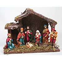 Kamaca Belén/Navidad Belén con Figuras de 8