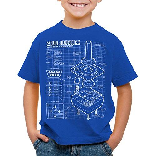 style3-2600-vcs-console-videogiochi-cianografica-t-shirt-per-bambini-e-ragazzi-joystick-retrogaming-