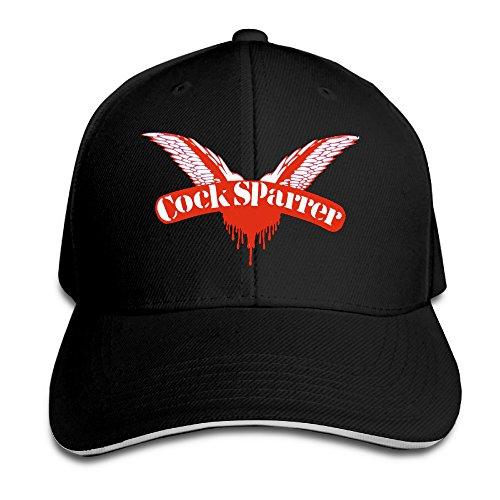 Cock Sparrer -Shock Troops Punk Rock Logo Snapback Vintage Sandwich Cap Vintage-sandwich-cap