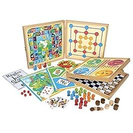 Unbekannt Jeujura 8120–COFFRET de classico gioco 80, regole–pedine in legno