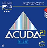 Tischtennis Belägen Donic Acuda blau P1Turbo, max, Rot