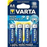 Varta High Energy AA Mignon LR06 Batterie (4er Pack) Alkaline Batterie