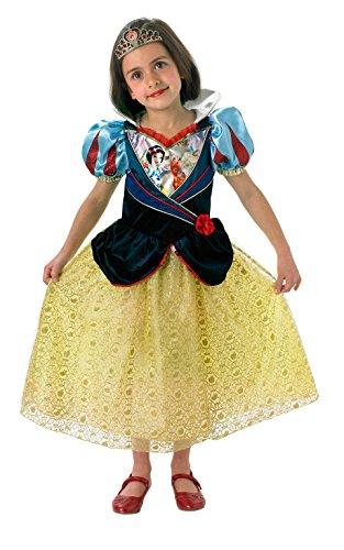 Rubie's Offizielles Schimmer-Schneewittchen-Kostüm für Kinder, Größe ()