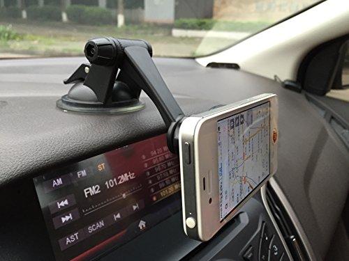 Gritech il cellulare supporto magnetico per auto, casa e viaggio. Involucro, impugnature per cruscotto, parabrezza, scrivania, ecc. Per Cellulari/Tablet/GPS/Tablet piccolo