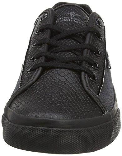 Creative Recreation Kaplan, Baskets Basses Homme Noir - Black (Black Platinum)