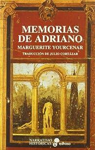 Memorias de Adriano par Marguerite Yourcenar