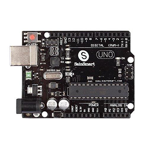 SainSmart UNO R3 ATmega328P Development Board + cavo USB compatibile con Arduino UNO R3 Mega 2560 Nano Robot