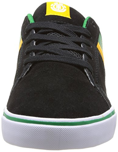 Element Billings 3, Chaussures de skateboard homme Noir (Black/Yellow)