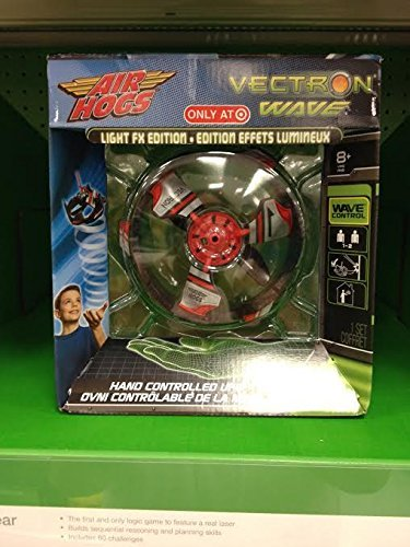 AIR HOGS VECTRON WAVE LIGHT FX EDITION - COLLECTOR\'S ITEM -RED