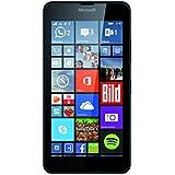 Microsoft Lumia 640 Smartphone débloqué 3G (Ecran : 5 pouces - 8 Go - Double SIM - Windows Phone 8.1) Noir (import europe)