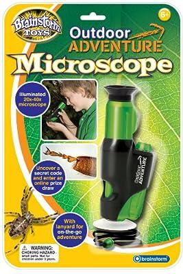 Brainstorm Juguetes Outdoor Adventure Microscopio [Importado de Inglaterra] de Brainstorm Ltd