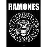 Póster en tela 'Ramones - Eagle Logo', Tamaño: 102 x 76 cm