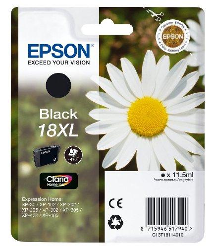 Preisvergleich Produktbild Epson 18XL-Set, 2 x Schwarz Tinte Claria Home