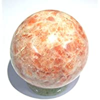 Leistungsstark 118Gramm Sonnenstein 44mm Kugel crystal Healing metaphysisch Edelstein Reiki Feng Shui Home Office... preisvergleich bei billige-tabletten.eu