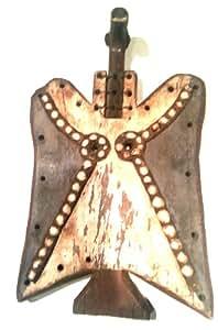 Ancien Masque Africain Tribal Toussian - Art Africain - Burkina Faso