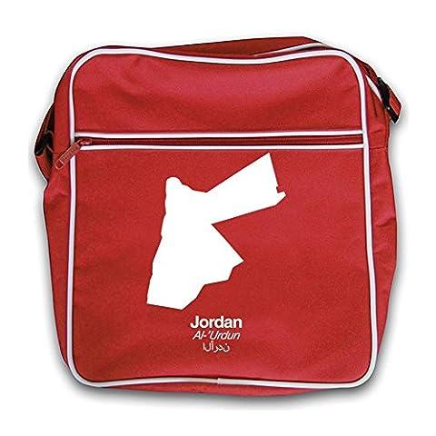 Jordan Silhouette - Retro Flight Bag Red