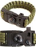 Outdoor saxx®–15in 1Outdoor Paracord braccialetto di...