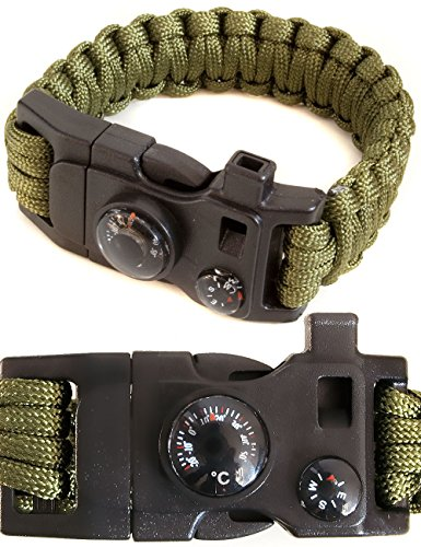 Outdoor saxx – 15 in 1 Outdoor Paracord...