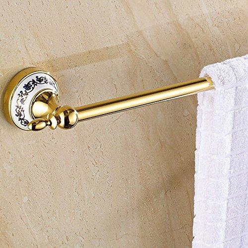 Porta asciugamani, accessori per il bagno, per cucina bagno finitura portatovagliolo in acciaio inox a un palo in acciaio inox blu e bianco da 40 cm