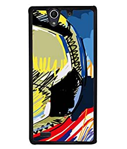 Fuson Designer Back Case Cover for Sony Xperia C4 Dual :: Sony Xperia C4 Dual E5333 E5343 E5363 (Boy Friend Child Student Dady Generations Father Uncle Relative Men )