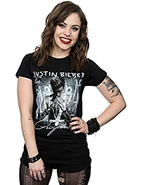 Justin Bieber mujer Purpose Album Cover Camiseta