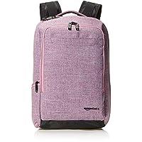 حقيبة ظهر للسفر بتصميم نحيف من امازون بيسكس، بلون ارجواني