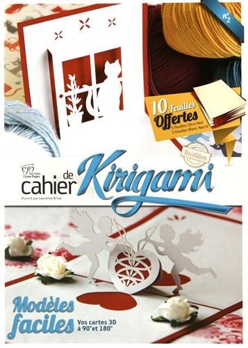 Cahier de kirigami n°02 - 41 Modèles faciles